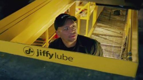 professional-actors-Jiffylube-man-in-carpit
